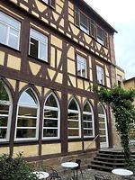 Wohnturm, Innenhofansicht / Ehem. Bebenhäuser Pfleghof, Steinhaus in 73728 Esslingen am Neckar (06.06.2019 - strebwerk.Architekten)