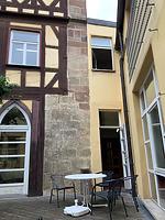 Verbindungsbai West / Ehem. Bebenhäuser Pfleghof, Steinhaus in 73728 Esslingen am Neckar (06.06.2019 - strebewerk.Architekten)