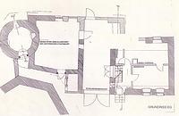 Bruchsal-Heidelsheim, Zehntgasse 17, Törlesturm, Grundriss Bestand / Törlesturm in 76646 Bruchsal-Heidelsheim