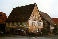 Empfingen, Schanzgasse 3, Straßenansicht / Bürgerhaus in 72186 Empfingen