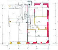 Empfingen, Haigerlocher Straße 12/14, Bauphasenplan Obergeschoss / ehem. Bauernhaus in 72186 Empfingen
