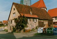 Eutingen im Gäu, Bahnhofstraße 7, Ansicht Süd-Ost / Wohnhaus mit Scheune in 72184 Eutingen im Gäu