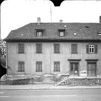 Photogrammetrische Aufnahme Ausschnitt Ansicht Süd, 1977 / ehem. Polizeigebäude in 74613 Öhringen