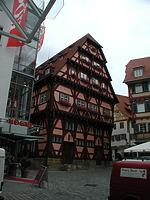 Südgiebel des Alten Rathauses (2007) / Altes Rathaus (urspr. Brot- und Steuerhaus) in 73728 Esslingen am Neckar