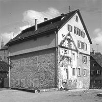Aufnahme von Süd, 1977 / Priesterseminar in 72108 Rottenburg am Neckar