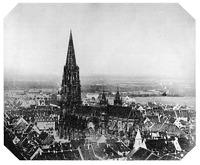 Um 1850 / Münster unserer Lieben Frau in 79098 Freiburg, Altstadt
