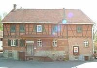 Obere Mühle, Remseck - Hochdorf. Westansicht. / Obere Mühle in 71686 Remseck - Hochdorf (28.04.2004 - Michael Hermann)