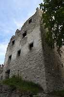 Ruine Bodman, Palas, Blick von Norden. / Burgruine Alt-Bodman in Bodman (10.06.2007)