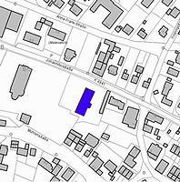 Lageplan 2007 (Vorlage LV-BW) / Kath. Pfarrhaus in 79423 Heitersheim