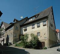 Südost-Ansicht , links Schmiedgasse 13, rechts Schmiedgasse 15 / Wohnhaus in 74653 Ingelfingen