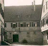 Bild aus den 1930er Jahren (StadtA SHA AL/0040) / Wohnhaus in 74523 Schwäbisch Hall