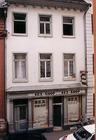 Heidelberg, Haspelgasse 10, Ansicht Vorderhaus / ehemaliges Verbindungshaus, Studentenwohnheim in 69115 Heidelberg, Altstadt