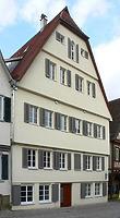 Bild von 2007. Foto: Dietmar Hencke (StadtA SHA Server Häuserlexikon) / Alte Münze / Münzhaus (früher Heilbronner Straße) in 74523 Schwäbisch Hall