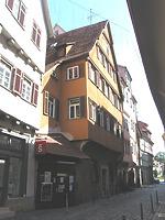 Straßenseitige Ansicht des Gebäudes Webergasse 13 / Wohngebäude in 73728 Esslingen am Neckar