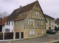 Mühlhausen, Untere Mühlstraße 7, Straßenansicht / Wohnhaus in 69242 Mühlhausen