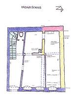Heidelberg, Kleine Mantelgasse 24, Bauphasenplan Erdgeschoss / Europahaus IV in 69117 Heidelberg, Altstadt