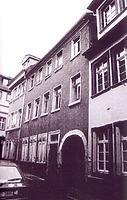 Heidelberg,Mittelbadgasse 14, Straßenansicht / Wohn- und Geschäftshaus in 69117 Heidelberg, Altstadt