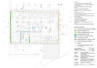 Friolzheim, Marktplatz 11, Zehntscheuer, Bauphasenplan 1. Dachgeschoss / Zehntscheuer in 71292 Friolzheim