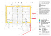 Friolzheim, Marktplatz 11, Zehntscheuer, Bauphasenplan Erdgeschoss / Zehntscheuer in 71292 Friolzheim
