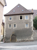 Ansicht von Norden  / Zehnthaus  in 74388 Talheim (29.09.2004)