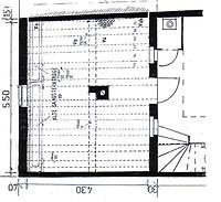 Heidelberg, Semmelsgasse 9, Hinterhaus, Grundriss Erdgeschoss / Hinterhaus in 69117 Heidelberg, Altstadt