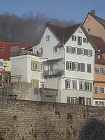 Bild aus dem April 2007. Foto: Daniel Stihler (StadtA Schwäbisch Hall Server Häuserlexikon) / Wohnhaus in 74523 Schwäbisch Hall