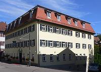 Südwestansicht, Januar 2008. Foto: Dietmar Hencke (StadtA SHA Server Häuserlexikon) / Gasthaus Kronprinz in 74523 Schwäbisch Hall