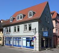 Bild von 2007. Foto: Dietmar Hencke (StadtA SHA Server Häuserlexikon) / Wohnhaus, Keller in 74523 Schwäbisch Hall