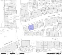 Lageplan (Vorlage: LV-BW und LAD) / Wohnhaus in 72070 Tübingen