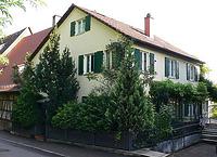 Bild aus dem August 2007. Foto: Dietmar Hencke (StadtA SHA Server Häuserlexikon) / Wohnhaus in 74523 Schwäbisch Hall