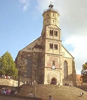 Ansicht evang. Kirche St. Michael / Michaelskirche, ev. Stadtkirche in 74523 Schwäbisch Hall