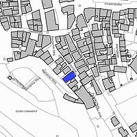 Lageplan 2007 (Vorlage LV-BW) / Schwäbisch Hall, Keckenhof 3 in 74523 Schwäbisch Hall