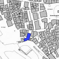 Lageplan 2007 (Vorlage LV-BW) / Ehemaliges Schlachthaus in 74523 Schwäbisch Hall