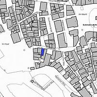 Lageplan 2007 (Vorlage LV-BW) / Wohn- und Geschäftshaus in 74523 Schwäbisch Hall