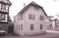 Ansicht von Süden (S. Uhl, 2001) / ehem. Dienerwohnung des Reutlinger Oberamtes in 72765 Reutlingen