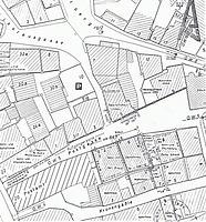 Lageplan Schwäbisch Gmünd 24.03.1981 / Wohn- und Geschäftshaus in 73525 Schwäbisch Gmünd