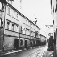 Neckarstraße 53-57 (1977) Quelle: www.bildindex.de / Fachwerkhaus in 72160 Horb, Horb am Neckar