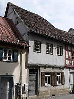 Außenansicht - Lange Straße 49, Foto: Dietmar Hencke (StadtA SHA Server Häuserlexikon) / Fachwerkhaus in 74523 Schwäbisch Hall