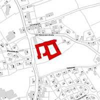 Flurkarte 2006 (Vorlage LV-BW) und LAD) / ehemalige Klosteranlage in 88639 Wald