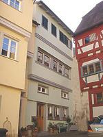 Hofseite. Bild von 2007 (StadtA SHA Server Häuserlexikon) / Wohnhaus in 74523 Schwäbisch Hall