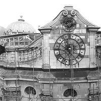 Photogrammetrische Aufnahme Ausschnitt Westportal, 1978 / ehemalige Klosteranlage in 79837 St. Blasien