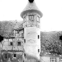 Photogrammetrische Aufnahme Ausschnitt Ansicht Nord, 1979 / Schlösschen in 97922 Lauda-Königshofen/Sachsenflur