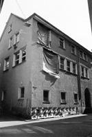 Stadelgasse 1, Ansicht von Nordwesten (R. Crowell, B. Kollia-Crowell) / Ehemaliges Badhaus in 88212 Ravensburg