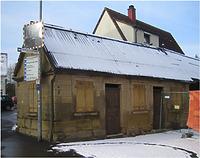 Ansicht von Nordosten Feb. 2009  / Ehem. Jüdische Metzgerei in 74251 Lehrensteinsfeld