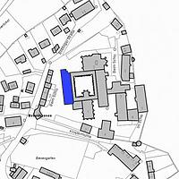 Lageplan 2007 (Vorlage LV-BW) / Westflügel mit Winter- und Laienrefektorium in 72074 Tübingen-Bebenhausen