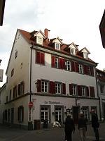 Blick nach Osten / Ehemaliger Domherrenhof in 78462 Konstanz (10.11.2011 - Schoenenberg_priv)