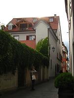 Blick nach Westen  / Ehemaliger Domherrenhof in 78462 Konstanz (10.11.2011 - Schoenenberg_priv)