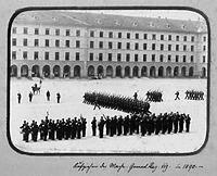 Foto von 1890 (Stadtarchiv Stuttgart) / Rotebühlbau, Rotebühlkaserne, große Infanteriekaserne in 70197 Stuttgart, Stuttgart-Mitte