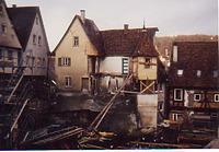 Kirchgasse 1, gesamt von Westen / Fachwerkhaus, sog. Akademiegebäude  in 74523 Schwäbisch Hall