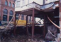 Kirchgasse 7, künstliches UG unter Akademiegebäude, von Nordosten. / Fachwerkhaus, sog. Akademiegebäude  in 74523 Schwäbisch Hall